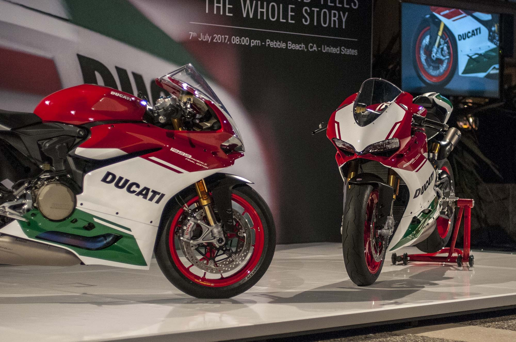 Ducati 1299 Panigale R Final Edition up close photos 11