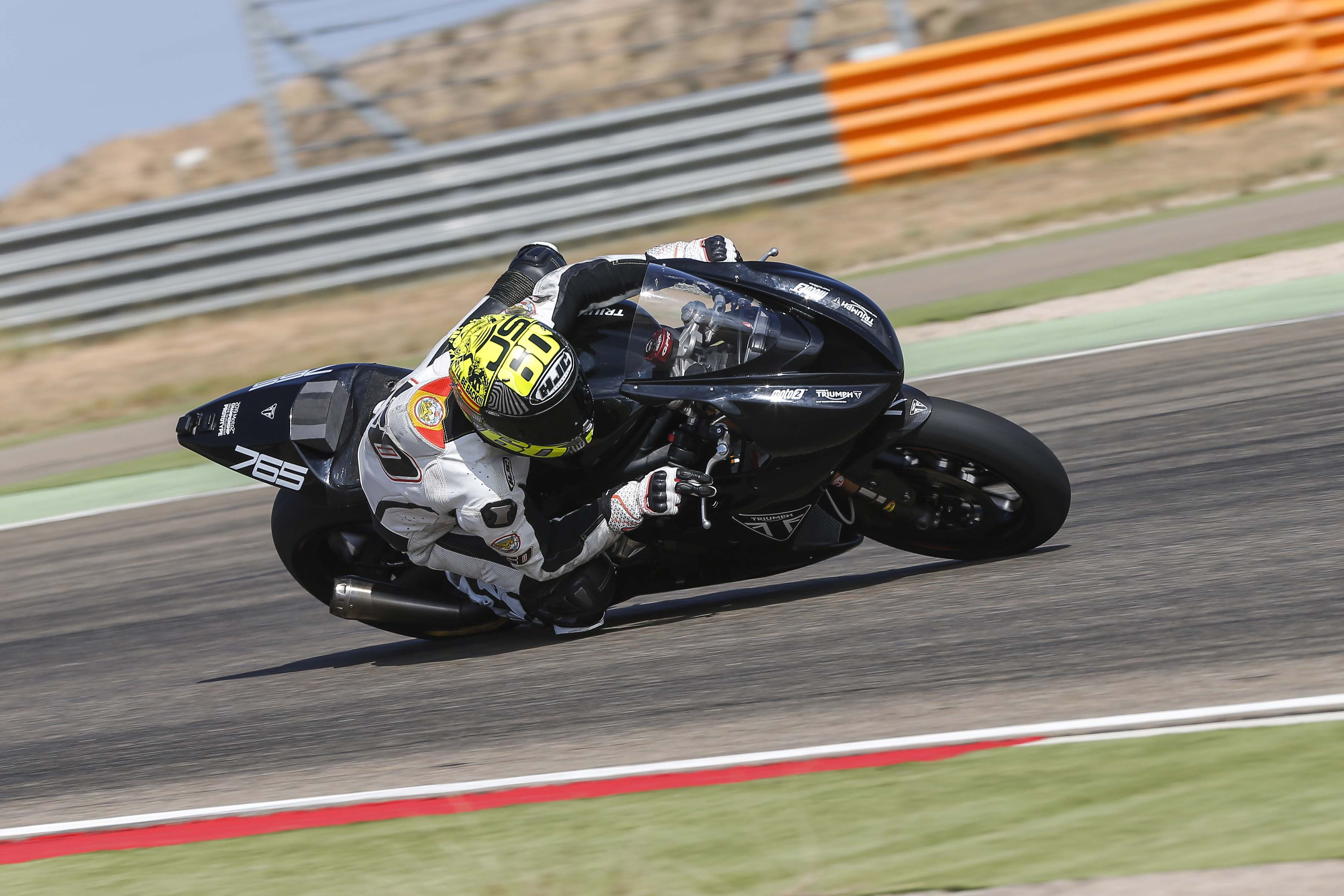 Triumph Daytona 765 Moto2 test bike 16
