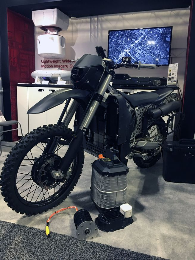 silent hawk stealth motorcyle 1